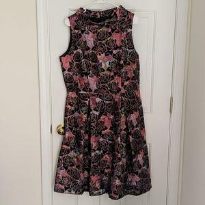 Multicolored Taylor dress